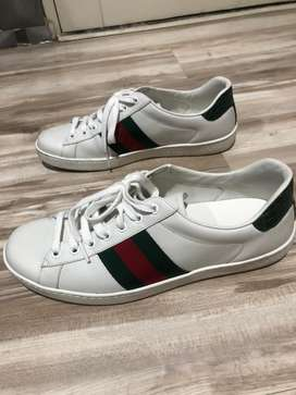 Gucci Mensace leather sneaks