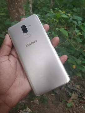 Galaxy j8 With box and charger