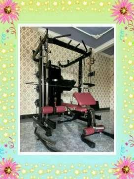 Alat gym SULTAN √ smith machine +leg press 2910