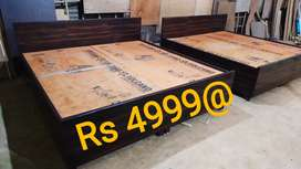 Free shipping double bed box king size