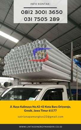 "Pipa Paralon PVC Rucika Putih Standard Wavin AW 1/2"" 1/2 Panjang 4 M"