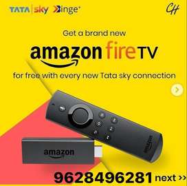 TATA SKY NEW D2H  HD CONNECTION ONLY  Rs.1300/-