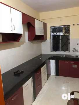 2bed room semifurnished flat for rent in derebail