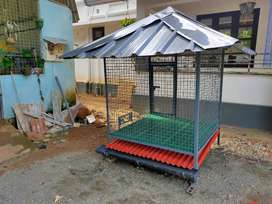 Customized dog cages as per your requirement.