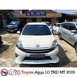 Di jual Cepat kondisi terawat Toyota Agya S TRD 2015