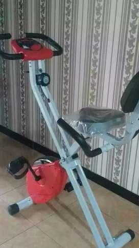 Sepeda statis maghnetick teraphys sportation familly Sukun