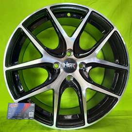 Bisa kredit velg import hsr JD 721 Ring 17 Avanza,Xenia,Vios,jazz rs