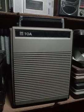 Jadul antik Meeting Amplifier Toa japan thn 1978