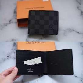 Dompet Louis Vuitton Slender Damier BNIB 100% Authentic Ready