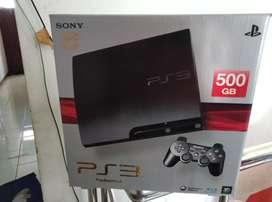 Istimewa Banget PS3 Slim bagus hdd 500gb full 50 game 2 Stik siap COD