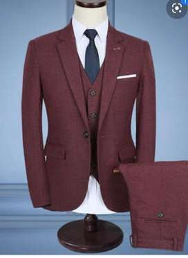 New 5 piece suit mens only 3800 any size any colour