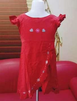 Dress anak KIDZ TOO Katun Usia 5-6 tahun murah