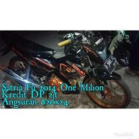 Satria Fu 2014 One Milion Spesial Edition Km20rban