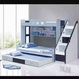 (Triple Bunk Bed)