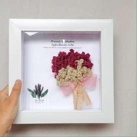Jual Foto Frame Kayu Hadiah Aesthetic KADO WISUDA   KADO WEDDING