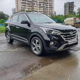 Hyundai Creta 1.6 VTVT AT SX Plus, 2019, Petrol