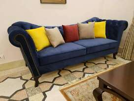 Stylish Three Plus Two Seats Sofa For Drawing-room.