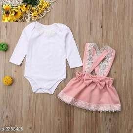 Kids girl's clothing set drss