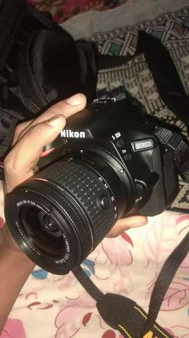 Nikon 5600d dslr is for rent