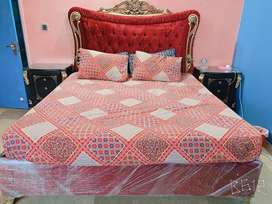 Bed set , cupboard , dressing table, chairs and table