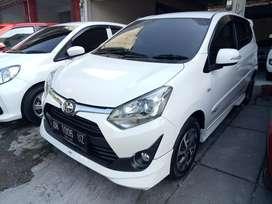 Agya 1,2 TRD MT 2018 putih, asli Bali,