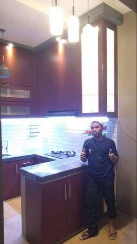 Kitchenset minibat kitchen set Model By custom mebel lemari