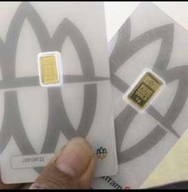 Emas antam 2 gram sby barcode