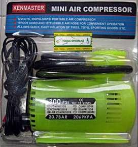 Mini Air Compressor / Pompa Angin Kenmaster 300 PSI