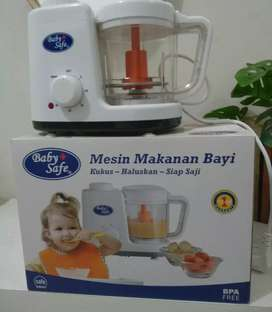 Dijual baby food maker by Baby safe lengkap