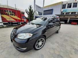 Vios G M/T 2003 hitam full original low KM