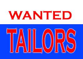 Wanted Tailors for Ladies Boutique at Kollam, Kerla