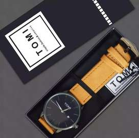 Tomi Luxury Casual Wirst Watch Complete Box