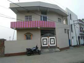 3 bhk flat with 1 bathroom kitchen and a hall
