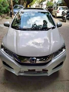 Honda City 1.5 V MT Sunroof, 2015, Diesel