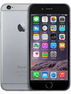 With brand new condition iphone 6 ..16gb variant battery health 86%