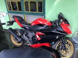 Jual motor kawasaki 2014 ninja RR mono 250