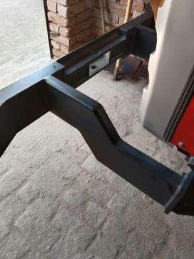 Massey tractor bumper