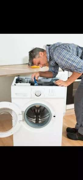Washing machine and refrigerator servicing and repair..checkup