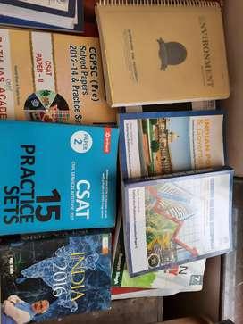 Upsc aur cgpsc ki complete books ka set