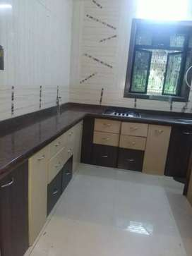 2bhk semi farnished flat rent available