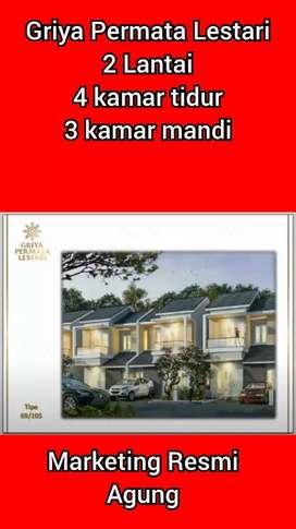 Rumah 2 Lantai dekat Polda Perintis Makassar