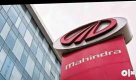 Mahindra company urgent requirement female and male