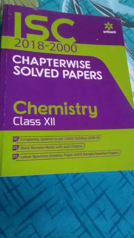 Isc chapterwise solved papers