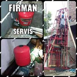 service pompa air 24 jam / tukang sumu / sedot wc