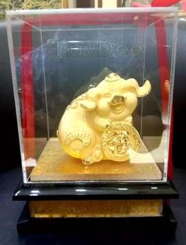 Patung Babi Fu 12 kado souvenir