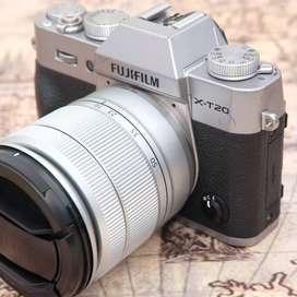Fujifilm X-T20 Fullset kit 16-50mm OIS II SILVER kode 1130E19