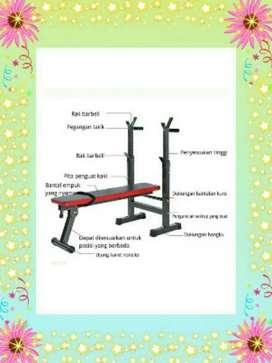 Alat GYM SULTAN √ bangku bench press mini 2910