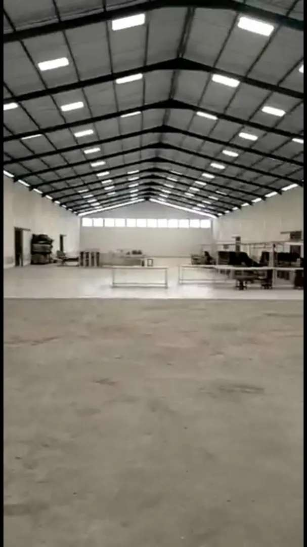 Gudang Dijual ( Ex Pabrik + Zona Industri + Siap Pakai )