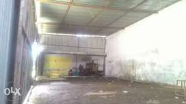 Warehouse with shed available for rent