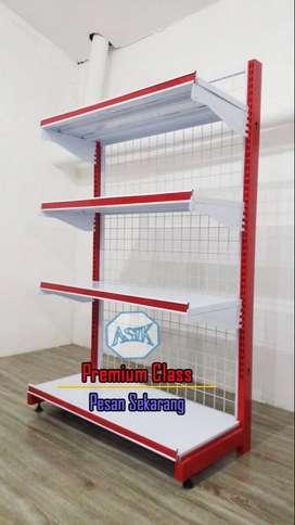 Rak Display kualitas premium bahan baja